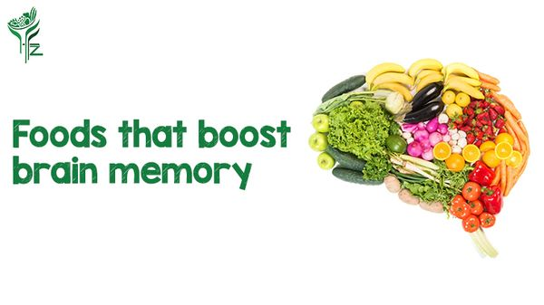 Boost your Brain Memory with these Foods