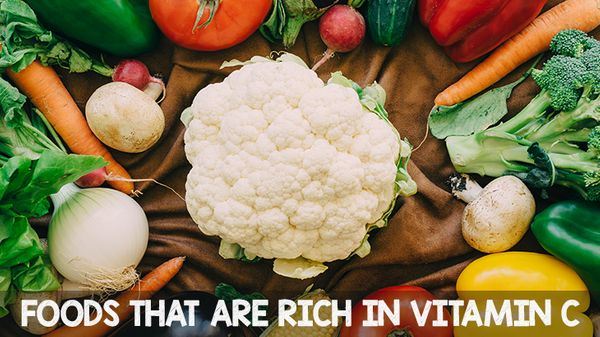 Foods that are rich in Vitamin C