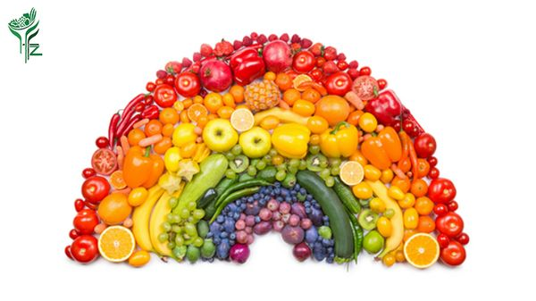 The Colours of Healthy Eating