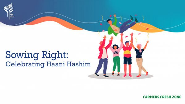 Celebrating our employees:      Haani Hashim SVP.